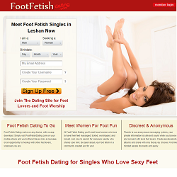 foot fetish dating